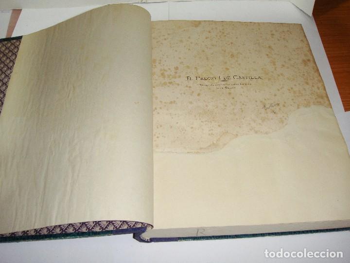 Libros antiguos: DON PEDRO I DE CASTILLA. P. Joaquín Guichot. Cronista oficial de Sevilla. Firmado por el autor. 1878 - Foto 3 - 115124859