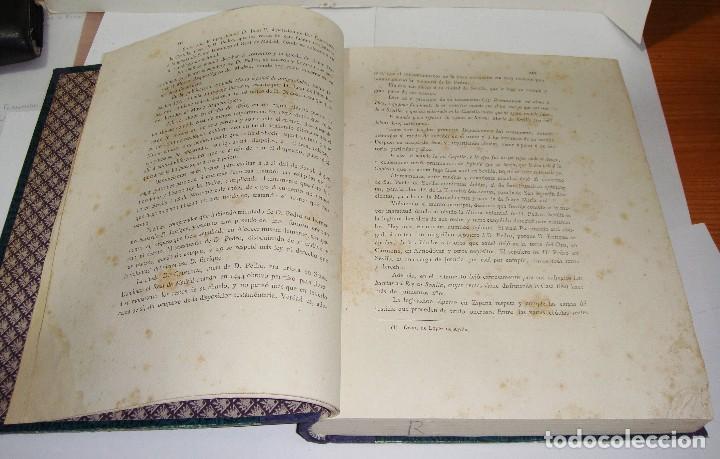 Libros antiguos: DON PEDRO I DE CASTILLA. P. Joaquín Guichot. Cronista oficial de Sevilla. Firmado por el autor. 1878 - Foto 7 - 115124859