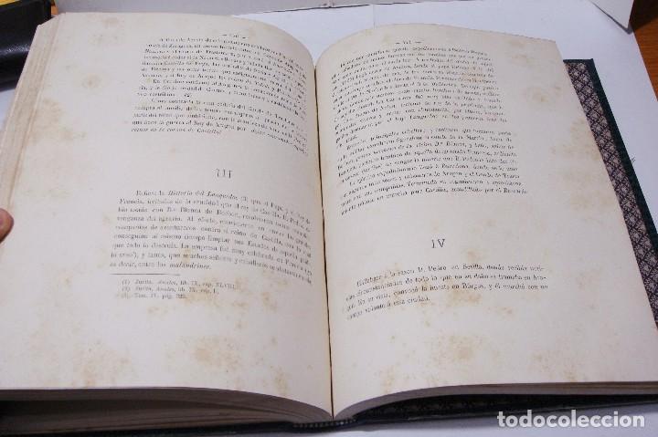 Libros antiguos: DON PEDRO I DE CASTILLA. P. Joaquín Guichot. Cronista oficial de Sevilla. Firmado por el autor. 1878 - Foto 9 - 115124859