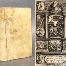 Old books - 1710 Rerum per Europam maxime Gestarum - historia de España - pergamino - 115171335