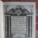 Libros antiguos: 1620-EL ENBAXADOR.EL EMBAJADOR.DON IVÁN ANTONIO DE VERA Y ZÚÑIGA.FELIPE III.ANTIGUOS ESPIAS.ORIGINAL. Lote 115293471