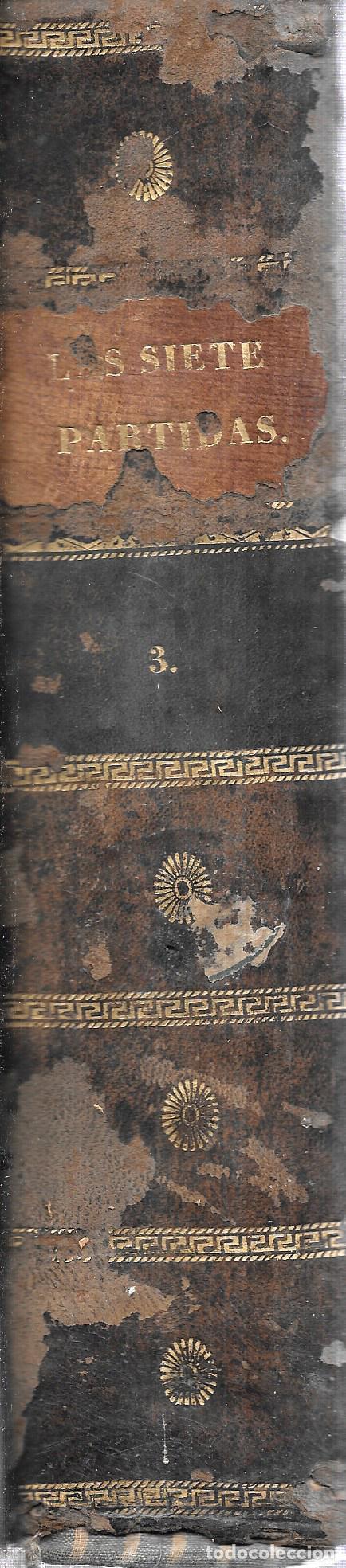 Libros antiguos: LAS SIETE PALABRAS DEL REY DON ALFONSO EL SABIO. POR LA REAL ACADEMIA DE LA HISTORIA. 1807. LEER. - Foto 13 - 115546087