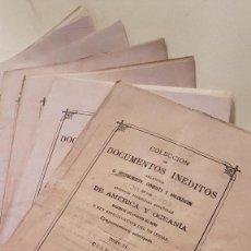 Libros antiguos: COLECCION DE DOCUMENTOS INEDITOS RELATIVOS AL DESCUBRIMIENTO ...DE POSESIONES EN AMERICA Y OCEANIA... Lote 116077531