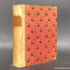 Livros antigos: 1790 ORIGINI E PREROGATIVE DE CARDINALI - CARDENAL - ECLESIÁSTICO - IGLESIA CATÓLICA - PERGAMINO. Lote 116088579