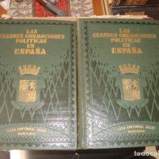 Libros antiguos: PI Y MARAGALL LAS GRANDES CONMOCIONES POLITICAS EN ESPAÑA , BUEN ESTADO . Lote 116089279