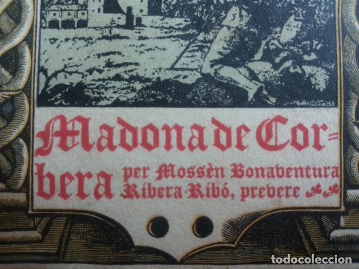 Libros antiguos: Madona de Corbera, per Mossèn Bonaventura Ribó, prevere. 1926 - Foto 3 - 116158655