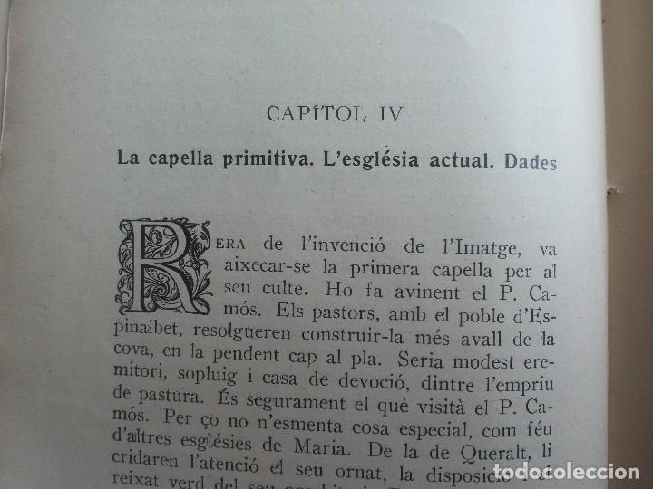 Libros antiguos: Madona de Corbera, per Mossèn Bonaventura Ribó, prevere. 1926 - Foto 9 - 116158655