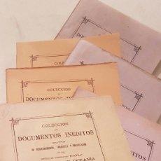 Libros antiguos: COLECCION DE DOCUMENTOS INÉDITOS RELATIVOS AL DESCUBRIMIENTO DE POSESIONES EN AMERICA Y OCEANIA. . Lote 116321267