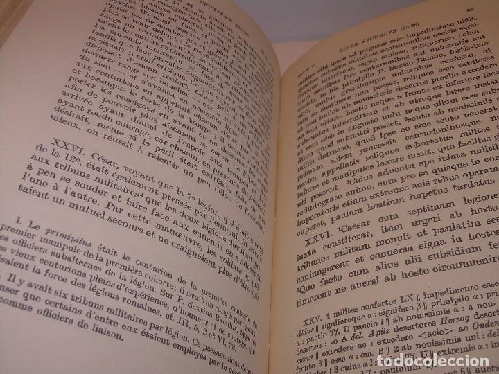 Libros antiguos: CESAR... GUERRA DE LAS GALIAS...AÑO 1941..CON PLANO DESPLEGABLE...LIBRO TAPAS DE PIEL. - Foto 6 - 116707391