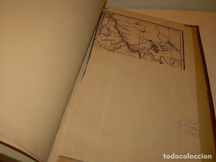 Libros antiguos: CESAR... GUERRA DE LAS GALIAS...AÑO 1941..CON PLANO DESPLEGABLE...LIBRO TAPAS DE PIEL. - Foto 8 - 116707391