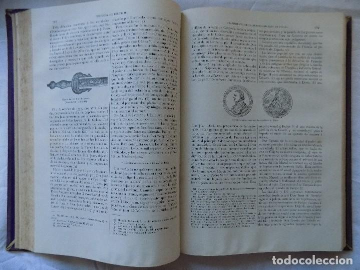 Alte Bücher: LIBRERIA GHOTICA. H.FORNERON. HISTORIA DE FELIPE SEGUNDO. MONTANER Y SIMON. 1884. GRABADOS. - Foto 3 - 116784095