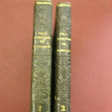 Libros antiguos: HISTORIA DEL FAMOSO PREDICADOR FRAY GERUNDIO DE CAMPAZAS, ALIAS ZOTES. DOS TOMOS. Lote 116555859