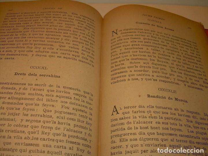 libro cronicas del rey jaume primer...2 tomos e - Comprar