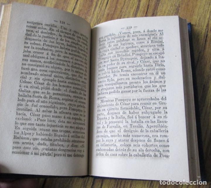 Libros antiguos: HISTORIA ROMANA - Desde la fundación de roma hasta el fin del imperio de occidente - P Loriquet 1878 - Foto 2 - 117862307