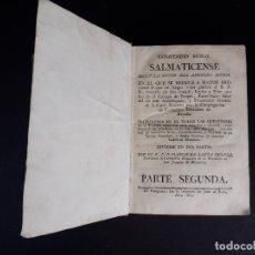 Libros antiguos: COMPENDIO MORAL SALMATICENSE 1805. DOS TOMOS. Lote 118334035