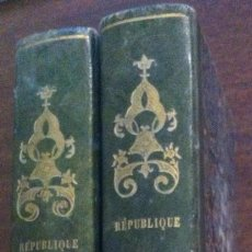 Libros antiguos: HISTOIRE DES RÉVOLUTIONS ARRIVÉES DAN LE GOUVERNEMENT DE LA RÉPUBLIQUE ROMAINE - 2 TOMOS, PARÍS 1821. Lote 119704911