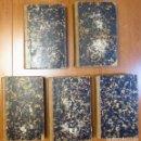 Libros antiguos: HISTORIA GENERAL DE ESPAÑA, POR EL PADRE MARIANA Y EDUARDO CHAO. 1848 - 1851. 5 TOMOS. COMPLETA.. Lote 119720911