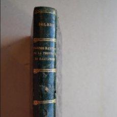 Libros antiguos: MARINOS ILUSTRES DE LA PROVINCIA DE SANTANDER. JOSE ANTONIO Y ALFREDO DEL RIO. 1881. Lote 120281963