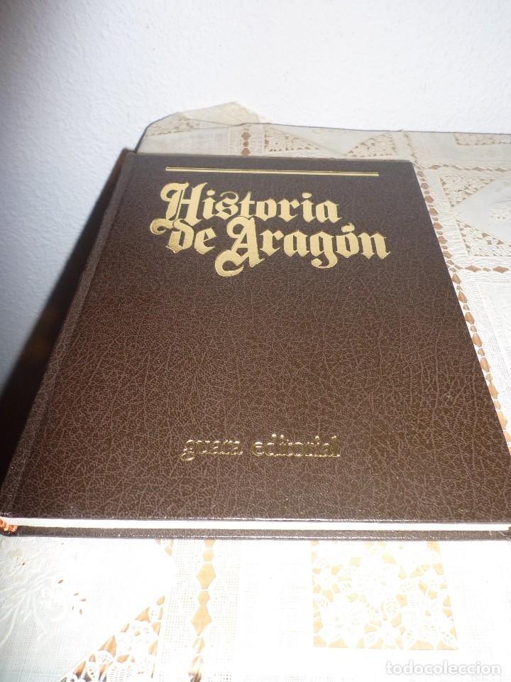 TOMO 1 DE HISTORIA DE ARAGON ILUSTRADA DE EDITORIAL GUARA-1985-NO DISPONIBLE EN EDITORIAL (Libros antiguos (hasta 1936), raros y curiosos - Historia Antigua)