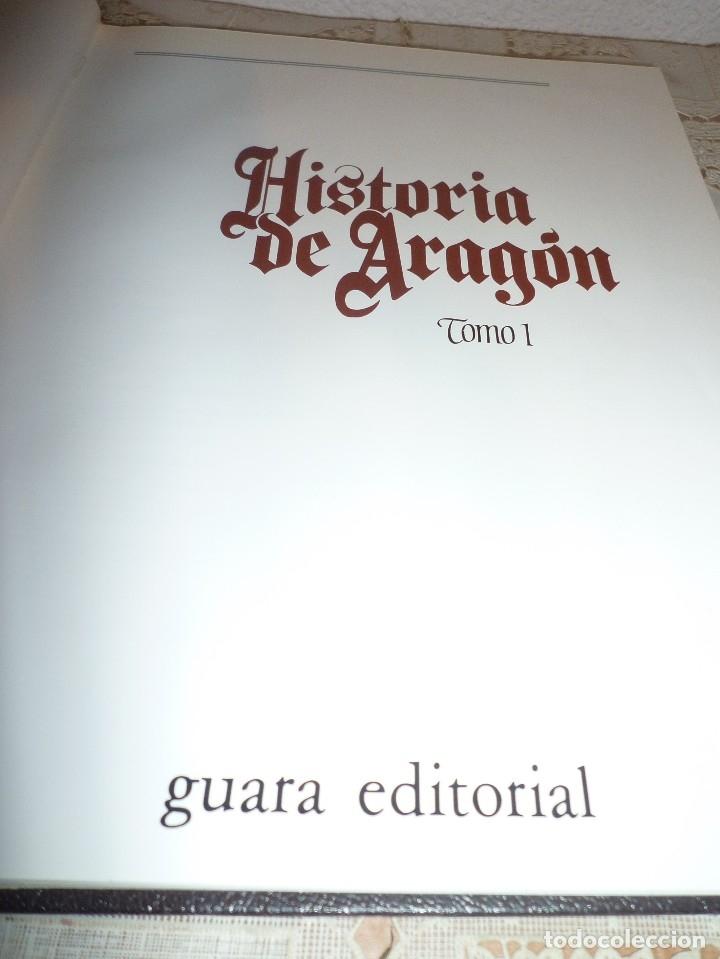 Libros antiguos: TOMO 1 DE HISTORIA DE ARAGON ILUSTRADA DE EDITORIAL GUARA-1985-NO DISPONIBLE EN EDITORIAL - Foto 2 - 120452871