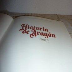 Libros antiguos: TOMO 3 DE HISTORIA DE ARAGON ILUSTRADA DE EDITORIAL GUARA-1985-NO DISPONIBLE EN EDITORIAL. Lote 120480803