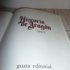 Libros antiguos: TOMO 4 DE HISTORIA DE ARAGON ILUSTRADA DE EDITORIAL GUARA-1985-NO DISPONIBLE EN EDITORIAL. Lote 120480963