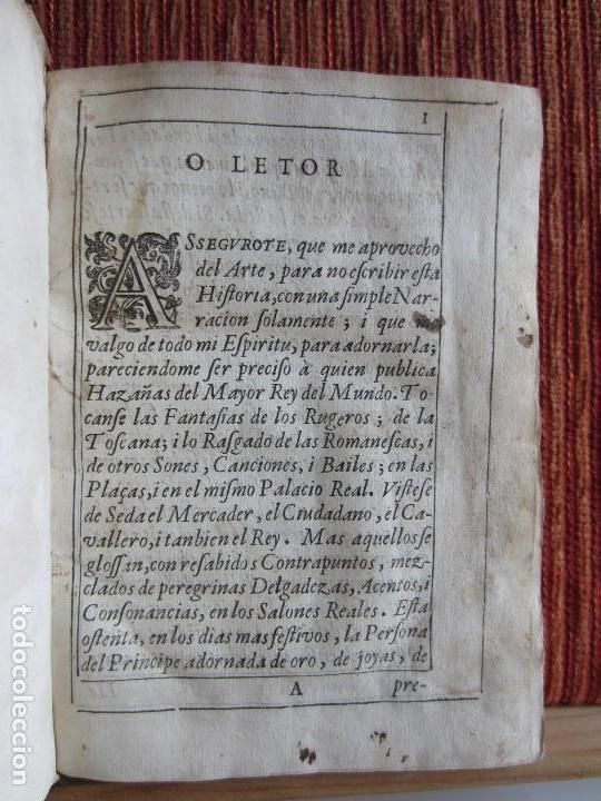 Libros antiguos: 1639-SUCESOS MONARQUÍA ESPAÑA.REY FELIPE IV.GUERRA 80 AÑOS.MARQUÉS DE LEGANÉS.CONDE DUQUE.ORIGINAL - Foto 4 - 121339719