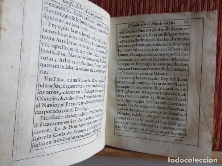 Libros antiguos: 1639-SUCESOS MONARQUÍA ESPAÑA.REY FELIPE IV.GUERRA 80 AÑOS.MARQUÉS DE LEGANÉS.CONDE DUQUE.ORIGINAL - Foto 9 - 121339719