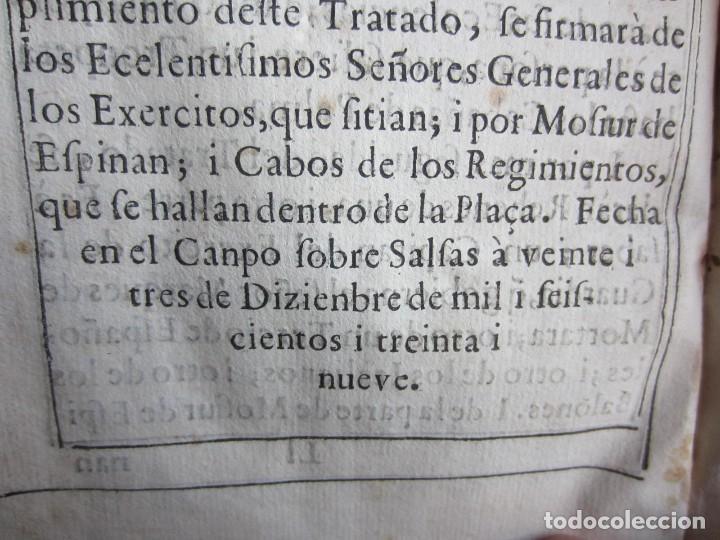 Libros antiguos: 1639-SUCESOS MONARQUÍA ESPAÑA.REY FELIPE IV.GUERRA 80 AÑOS.MARQUÉS DE LEGANÉS.CONDE DUQUE.ORIGINAL - Foto 16 - 121339719