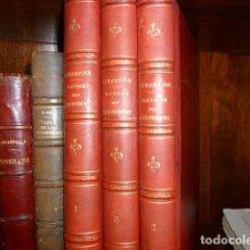 Libros antiguos: HISTOIRE DES GIRONDINS. A. DE LAMARTINE. Lote 114572495