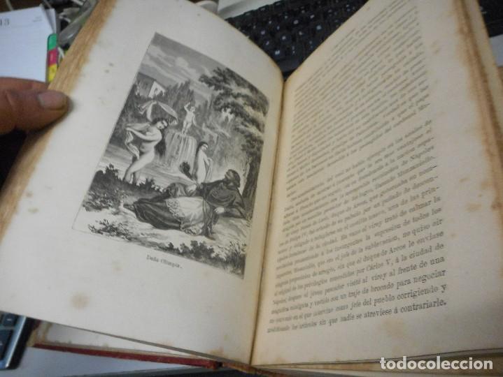 Libros antiguos: libro historia de los papas y los reyes 1870 tomo tercero buen estado con laminas - Foto 5 - 134894785