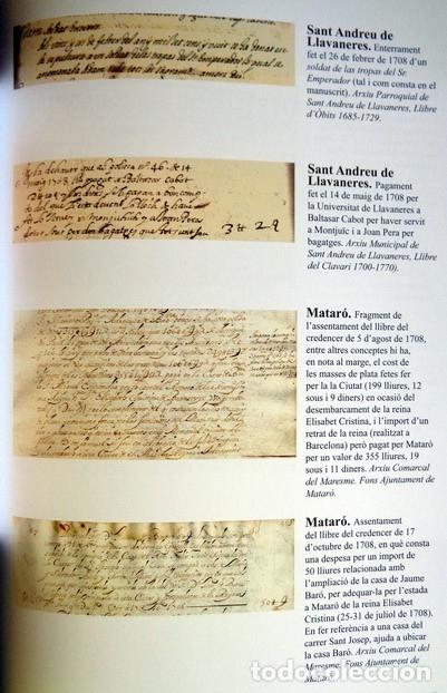 Libros antiguos: EL MARESME EN LÍNIA DEL TEMPS DE LA GUERRA DE SUCCESSIÓ, 1702-1714 - Foto 3 - 123046975
