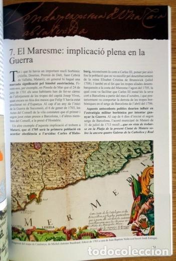 Libros antiguos: EL MARESME EN LÍNIA DEL TEMPS DE LA GUERRA DE SUCCESSIÓ, 1702-1714 - Foto 4 - 123046975