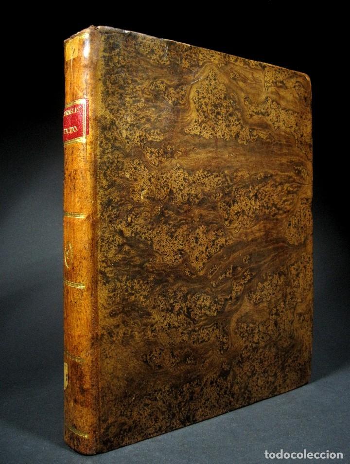 Libros antiguos: Año 1794 Los Anales de Tácito Imprenta Real Historia Antigua Roma Emperadores Cayo Castellano - Foto 5 - 49408753