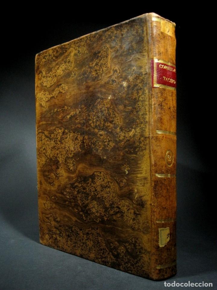 Libros antiguos: Año 1794 Los Anales de Tácito Imprenta Real Historia Antigua Roma Emperadores Cayo Castellano - Foto 37 - 49408753