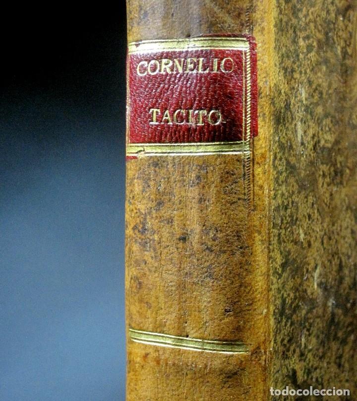 Libros antiguos: Año 1794 Los Anales de Tácito Imprenta Real Historia Antigua Roma Emperadores Cayo Castellano - Foto 3 - 49408753