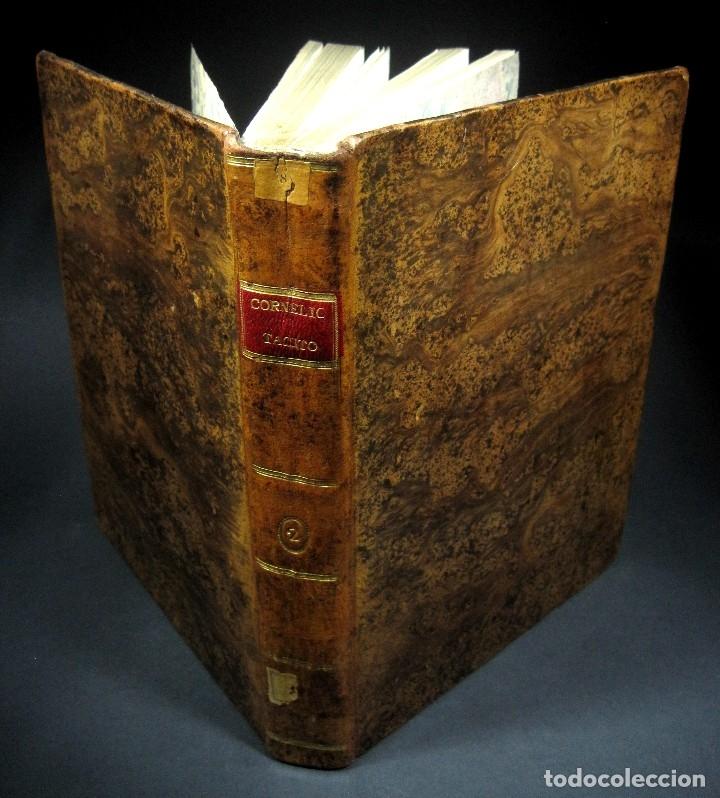 Libros antiguos: Año 1794 Los Anales de Tácito Imprenta Real Historia Antigua Roma Emperadores Cayo Castellano - Foto 2 - 49408753