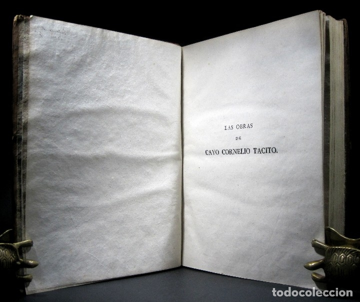 Libros antiguos: Año 1794 Los Anales de Tácito Imprenta Real Historia Antigua Roma Emperadores Cayo Castellano - Foto 14 - 49408753