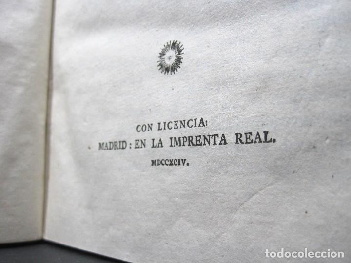 Libros antiguos: Año 1794 Los Anales de Tácito Imprenta Real Historia Antigua Roma Emperadores Cayo Castellano - Foto 35 - 49408753
