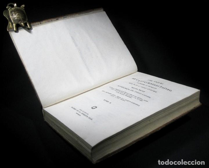 Libros antiguos: Año 1794 Los Anales de Tácito Imprenta Real Historia Antigua Roma Emperadores Cayo Castellano - Foto 18 - 49408753