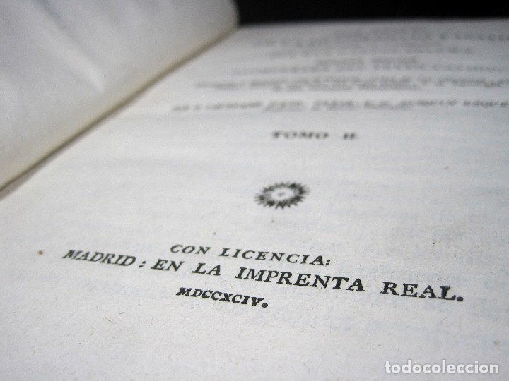 Libros antiguos: Año 1794 Los Anales de Tácito Imprenta Real Historia Antigua Roma Emperadores Cayo Castellano - Foto 17 - 49408753