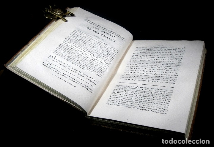 Libros antiguos: Año 1794 Los Anales de Tácito Imprenta Real Historia Antigua Roma Emperadores Cayo Castellano - Foto 25 - 49408753