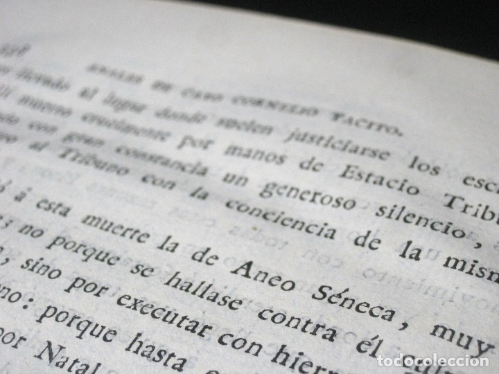 Libros antiguos: Año 1794 Los Anales de Tácito Imprenta Real Historia Antigua Roma Emperadores Cayo Castellano - Foto 24 - 49408753