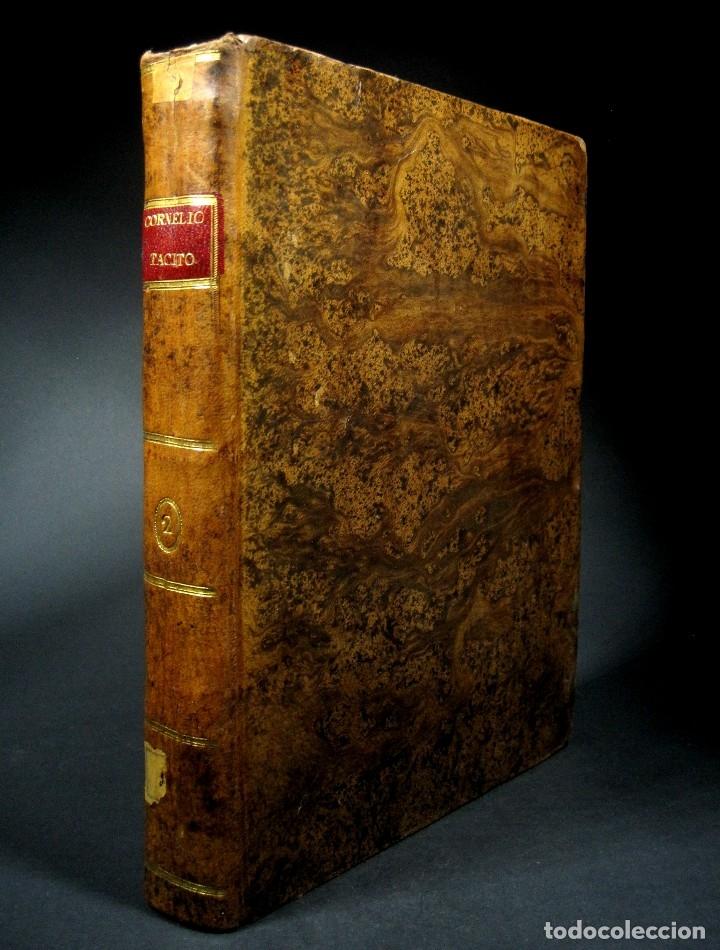 Libros antiguos: Año 1794 Los Anales de Tácito Imprenta Real Historia Antigua Roma Emperadores Cayo Castellano - Foto 36 - 49408753