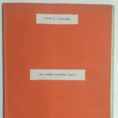 Libros antiguos: COM PARLAVA CRISTÒFOR COLOM? - CASTELLNOU, JOSEP MARIA.. Lote 123173364