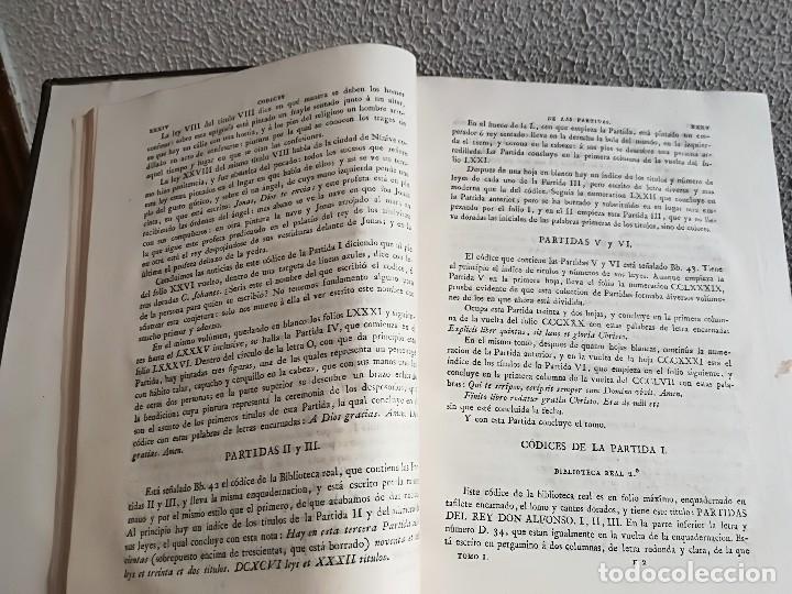 Libros antiguos: Las Siete Partidas del Rey don Alfonso el Sabio, cotejadas con varios códices antiguos por la Real A - Foto 7 - 116940947