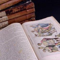 Libros antiguos: HISTORIA GENERAL DE ESPAÑA, ANTONIO DE CARCER DE MONTALBAN, 8 TOMOS. Lote 125090227