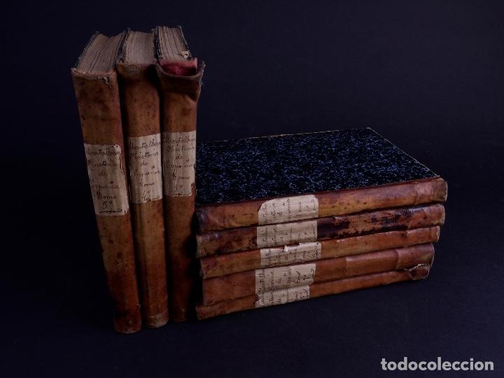 Libros antiguos: HISTORIA GENERAL DE ESPAÑA, ANTONIO DE CARCER DE MONTALBAN, 8 TOMOS - Foto 2 - 125090227