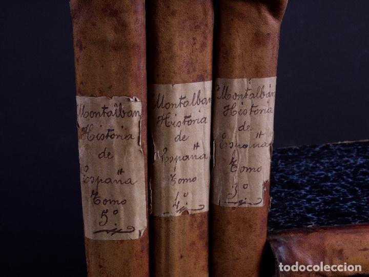 Libros antiguos: HISTORIA GENERAL DE ESPAÑA, ANTONIO DE CARCER DE MONTALBAN, 8 TOMOS - Foto 3 - 125090227
