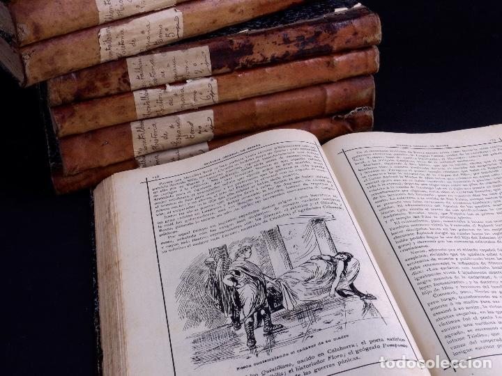 Libros antiguos: HISTORIA GENERAL DE ESPAÑA, ANTONIO DE CARCER DE MONTALBAN, 8 TOMOS - Foto 5 - 125090227